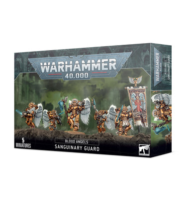 Warhammer 40,000 - Blood Angels - Blood Angels Sanguinary Guard available at 401 Games Canada
