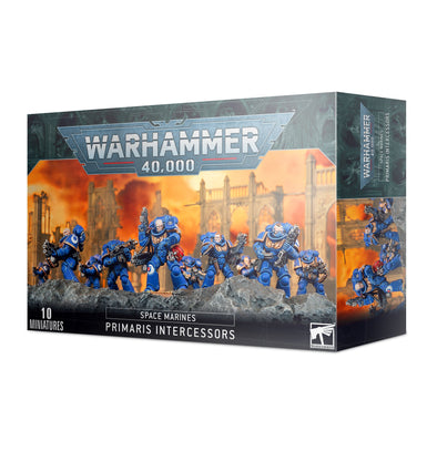 Warhammer 40,000 - Space Marines - Primaris Intercessors available at 401 Games Canada