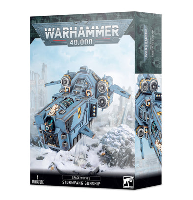 Warhammer 40,000 - Space Wolves - Space Wolves Stormfang Gunship available at 401 Games Canada