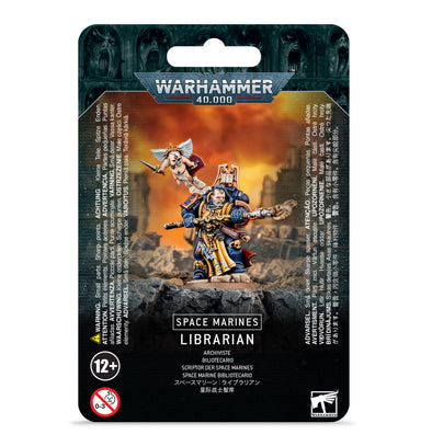 Warhammer 40,000 - Space Marines - Librarian available at 401 Games Canada