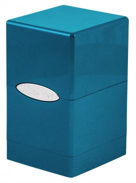 Ultra Pro - Deck Box 100+ Satin Tower - Ice - 401 Games