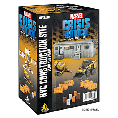 Marvel - Crisis Protocol - NYC Construction Site available at 401 Games Canada