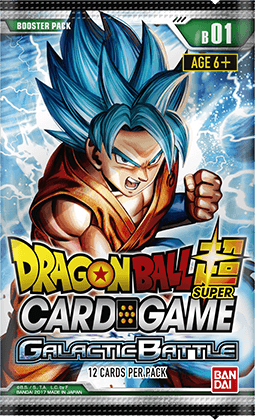 Dragon Ball Super Card Game - Galactic Battle - Booster Pack - 401 Games