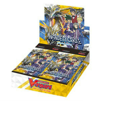 CARDFIGHT VANGUARD - V Booster Set 07: Infinideity Cradle Booster Box - 401 Games