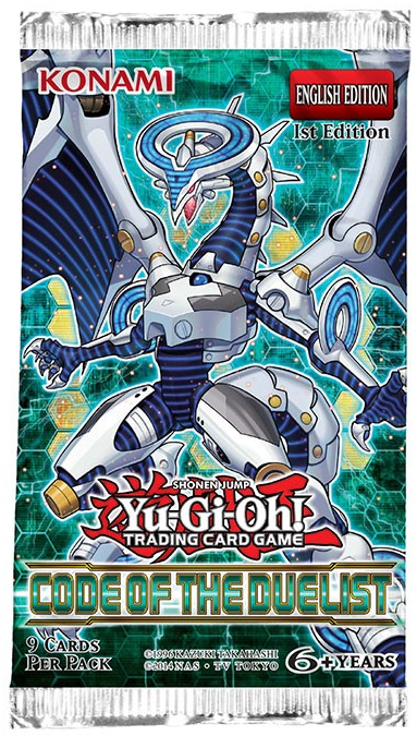 Yugioh - Code of the Duelist Booster Pack available at 401 Games Canada