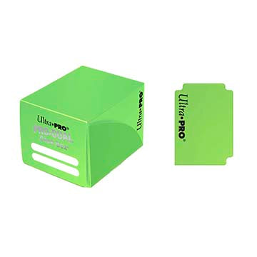 Buy Ultra Pro - Pro Dual Deck Box 120ct - Light Green and more Great Sleeves & Supplies Products at 401 Games