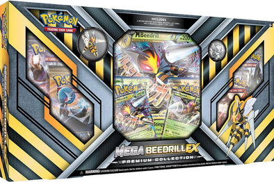 Buy Pokemon - Mega Beedrill EX Premium Collection and more Great Pokemon Products at 401 Games