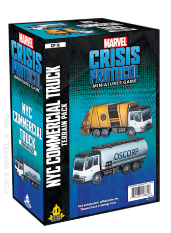Marvel - Crisis Protocol - NYC Commercial Truck available at 401 Games Canada