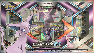 Buy Pokemon - Espeon-GX Premium Collection Box and more Great Pokemon Products at 401 Games