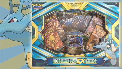 Buy Pokemon - Kingdra EX Collection Box and more Great Pokemon Products at 401 Games