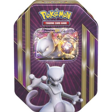 Buy Pokemon - Triple Power Tin - Mewtwo-EX and more Great Pokemon Products at 401 Games