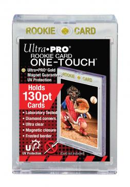 Buy Ultra Pro - Magnetic One Touch - 130pt Gold Rookie and more Great Sleeves & Supplies Products at 401 Games