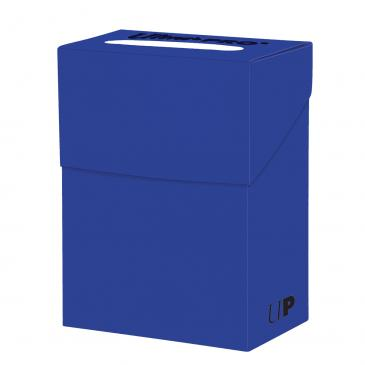 Buy Ultra Pro - Deck Box 80ct - Blue and more Great Sleeves & Supplies Products at 401 Games