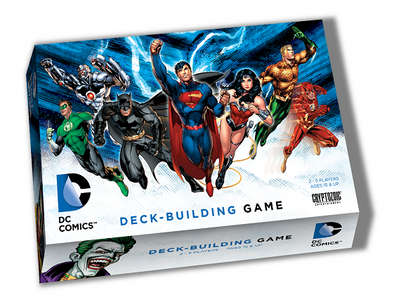 DC Comics Deck Building Game available at 401 Games Canada