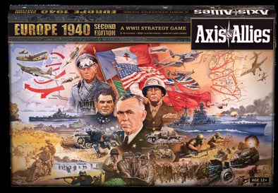 Axis and Allies - Europe 1940 Second Edition available at 401 Games Canada