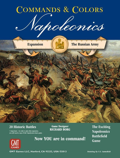 Commands & Colors: Napoleonics - The Russian Army - 401 Games