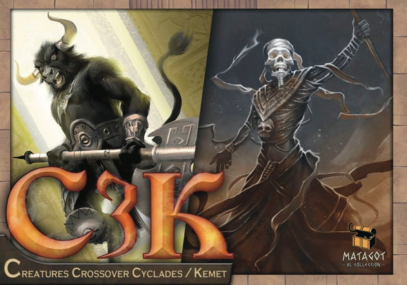 C3K - Creature Crossover Kemet/Cyclades - 401 Games