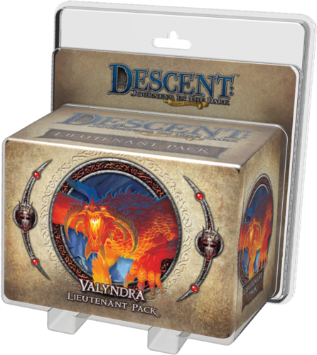 Descent - 2nd Edition - Valyndra Lieutenant Pack - 401 Games