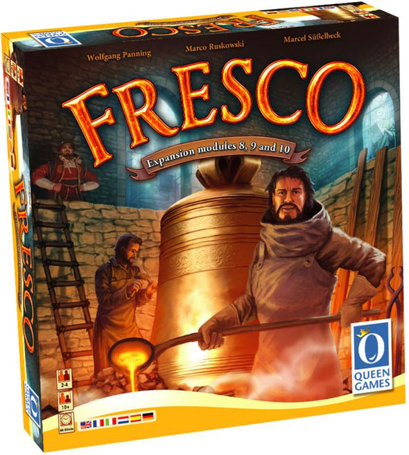 Fresco Expansions 8,9,10 available at 401 Games Canada