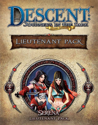 Descent - 2nd Edition - Serena Lieutenant Pack - 401 Games