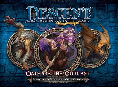 Descent - 2nd Edition - Oath of the Outcast - 401 Games