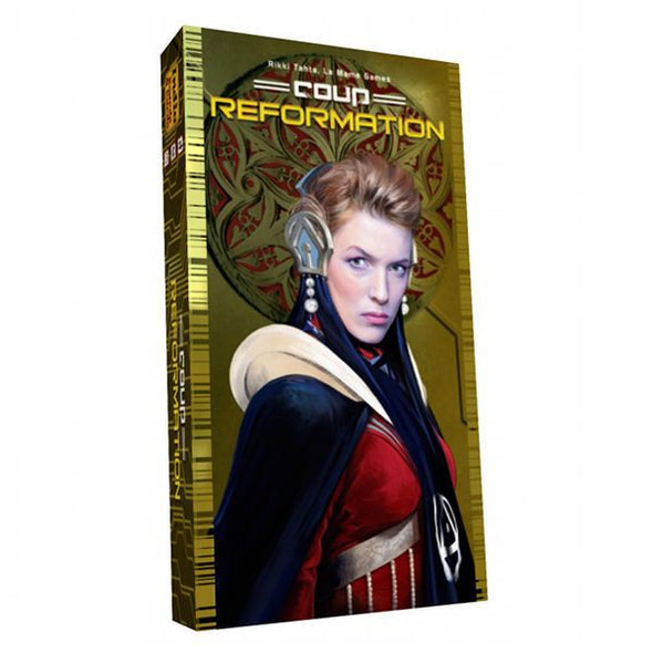Coup - Reformation Expansion available at 401 Games Canada
