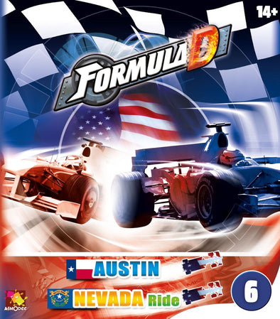 Formula D - Circuits 6 - Austin and Nevada - 401 Games