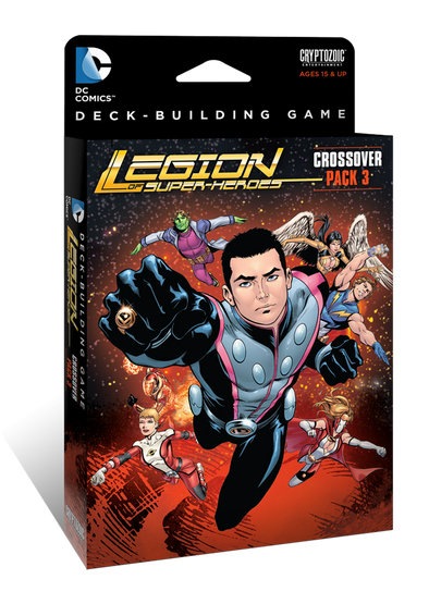 DC Comics Deck Building Game - Crossover Pack 3 -Legion of Super-Heroes available at 401 Games Canada