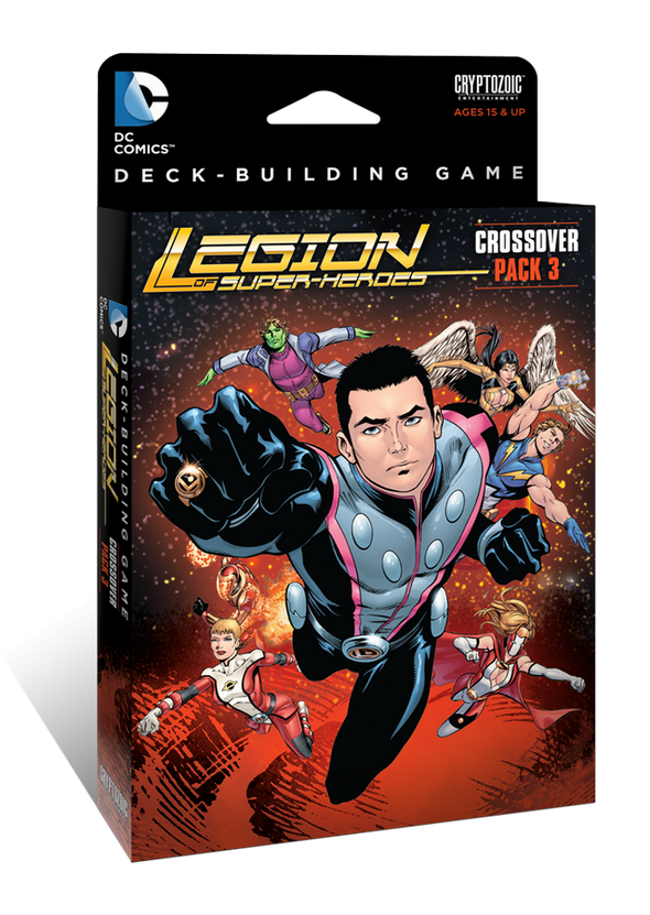 DC Comics Deck Building Game - Crossover Pack 3 -Legion of Super-Heroes - 401 Games