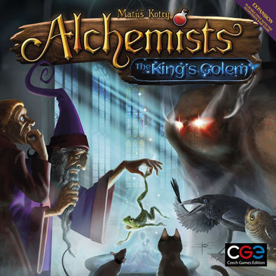 Buy Alchemists - The Kings Golem and more Great Board Games Products at 401 Games