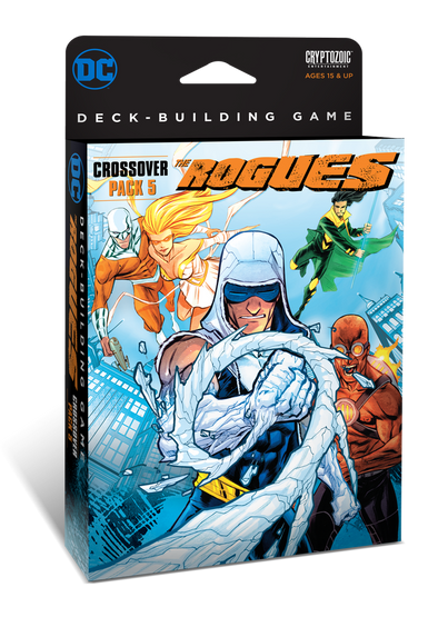 DC Comics Deck Building Game - Crossover Pack #5 - Rogues - 401 Games