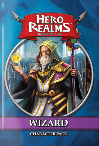 Hero Realms - Wizard Character Pack available at 401 Games Canada
