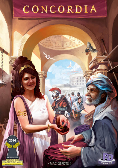 Buy Concordia and more Great Board Games Products at 401 Games