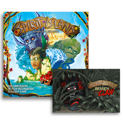 Board Game Bundle - Spirit Island and Branch & Claw - 401 Games