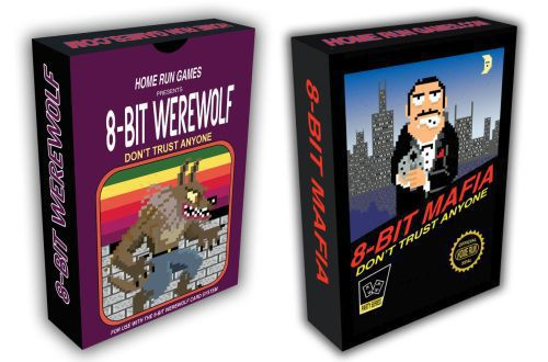 Bicycle 8-Bit Mafia/Werewolf - 401 Games
