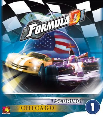 Formula D - Circuits 1 - Sebring & Chicago - 401 Games