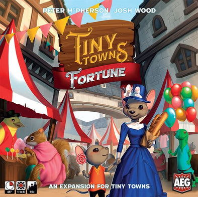 Tiny Towns: Fortune Expansion - 401 Games