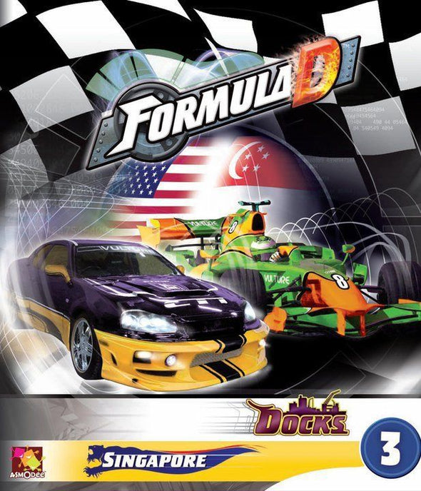 Formula D - Circuits 3 - Singapore & The Docks available at 401 Games Canada