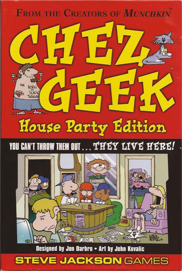 Chez Geek House Party - 401 Games
