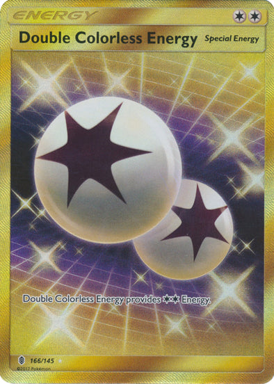 Double Colorless Energy - 166/145 - Secret Rare - 401 Games