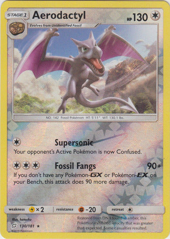 Buy Aerodactyl - 130/181 - Reverse Foil and more Great Pokemon Products at 401 Games
