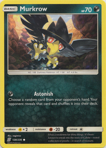 Murkrow - 128/236 available at 401 Games Canada