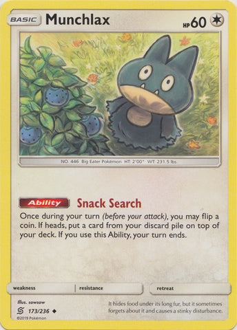 Munchlax - 173/236 available at 401 Games Canada