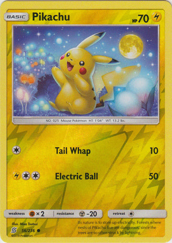 Pikachu - 56/236 - Reverse Foil available at 401 Games Canada