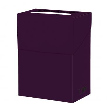 Buy Ultra Pro - Deck Box 80ct - Plum and more Great Sleeves & Supplies Products at 401 Games