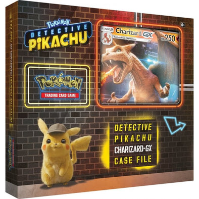 Buy Pokemon - Detective Pikachu Charizard GX Case File and more Great Pokemon Products at 401 Games