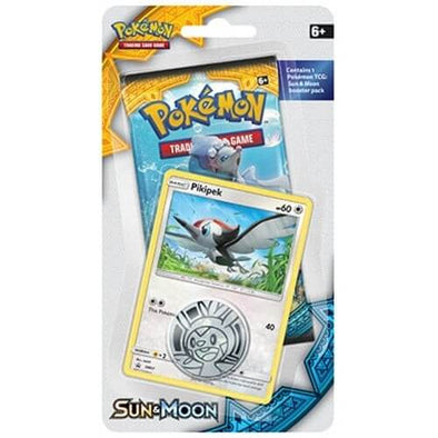 Buy Pokemon - Sun & Moon Checklane Blister - Pikipek and more Great Pokemon Products at 401 Games
