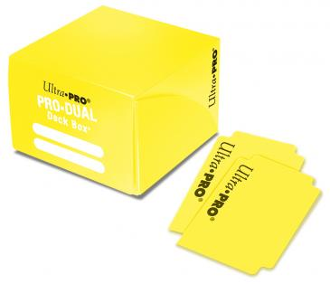 Ultra Pro - Pro Dual Deck Box 180ct - Yellow available at 401 Games Canada