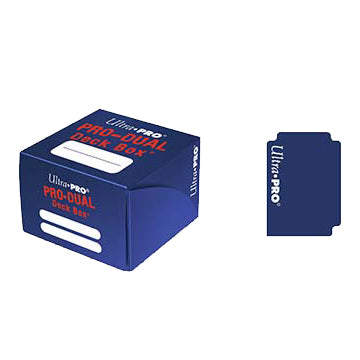 Ultra Pro - Pro Dual Deck Box 180ct - Blue available at 401 Games Canada