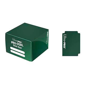 Ultra Pro - Pro Dual Deck Box 180ct - Green available at 401 Games Canada